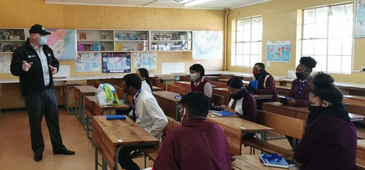 Responsible tourism is one click away for high school learners