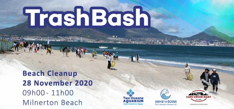 Trash Bash 28 November: Two Oceans Aquarium